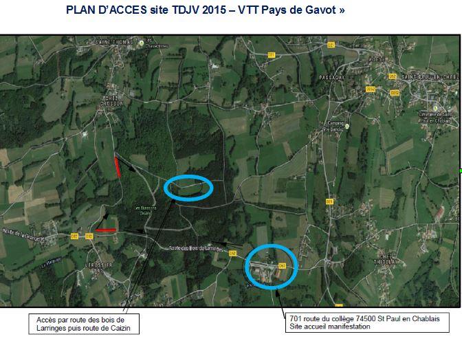 plan daccès TDJV